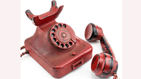 The telephone used by Adolf Hitler. © Ferrari
