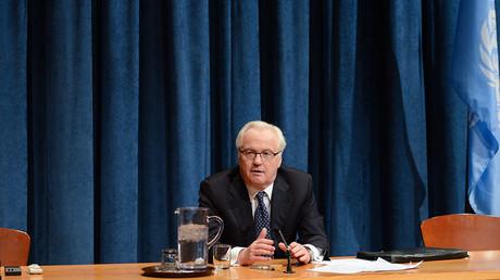 Diplomats shocked by sudden death of Russian UN envoy Churkin