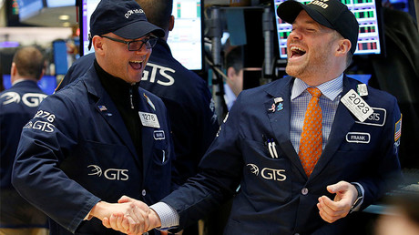 Traders at the New York Stock Exchange (NYSE) © Brendan McDermid