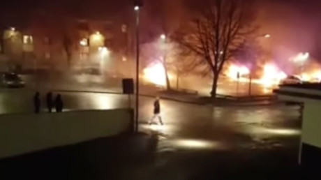Stockholm riots spark online debate over Sweden's 'no-go' areas