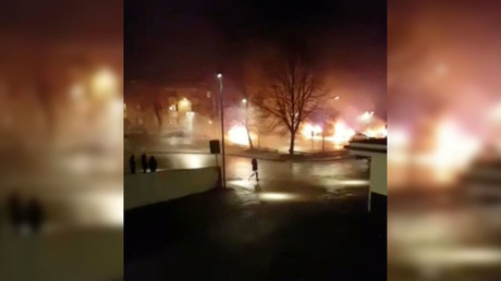 Stockholm riots spark online debate over Sweden's 'no-go' areas