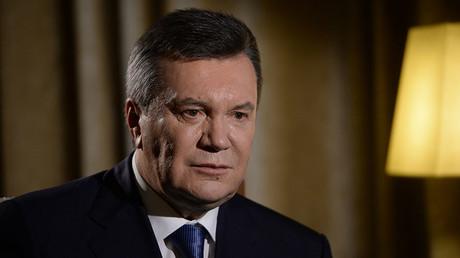 Former President of Ukraine Viktor Yanukovich. ©Iliya Pitalev