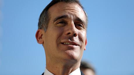 Los Angeles Mayor Eric Garcetti © Lucy Nicholson / Reuters