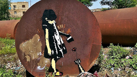 'Nobody taking responsibility for Yemen war' – Arab Banksy to RT