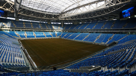 Stands of the Zenit Arena in St. Petersburg © Mikhail Kireev