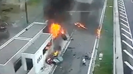 Greek millionaire's son crashes Porsche into parked car, 4 killed (VIDEO)