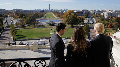 The Speaker's Balcony on Capitol Hill in Washington, U.S. © Joshua Roberts