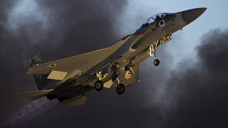An Israeli air force F-15 fighter jet © Amir Cohen