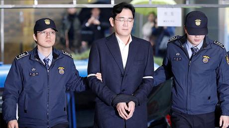 Samsung Group chief, Jay Y. Lee, Seoul, South Korea © Kim Hong-Ji