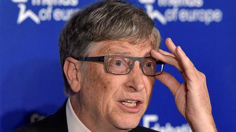 Microsoft founder Bill Gates © Eric Vidal