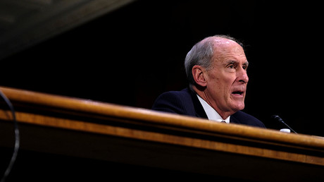 Former U.S. Senator Dan Coats (R-IN) testifies before the Senate Select Committee on Intelligence on his nomination to be Director of National Intelligence in Washington February 28, 2017. © James Lawler Duggan