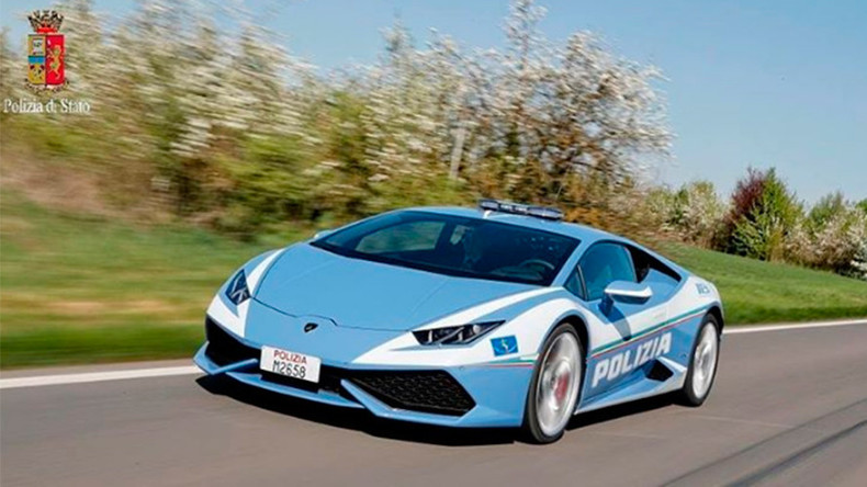 Lamborghini S Crime Fighting Supercar Set To Terrify
