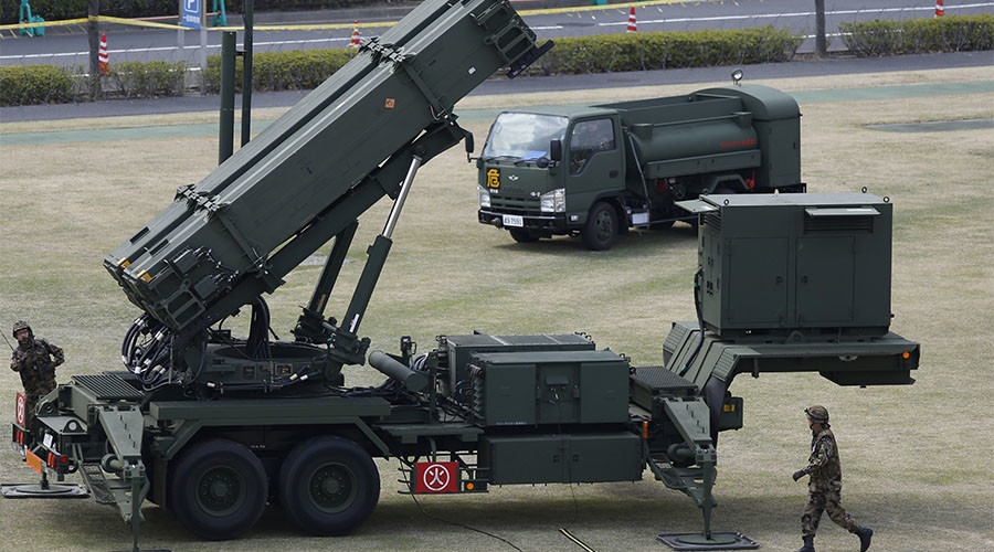 PAC-3 missiles deployed on Taiwan's east coast 'in response to Chinese military strategy'