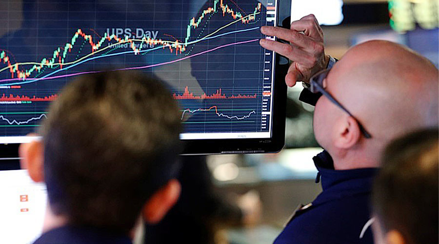 Dow Jones Industrial Average breaks 21,000 after Trump's speech to Congress