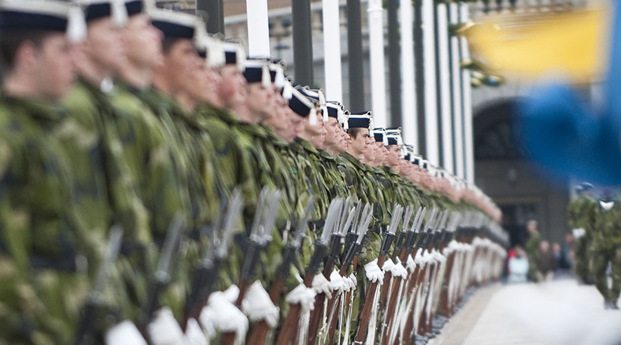 Sweden brings back military conscription for men & women