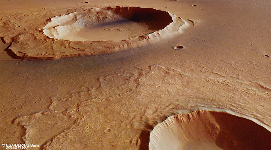 Incredible high-def images show ancient flooding remnants on Mars (PHOTOS)