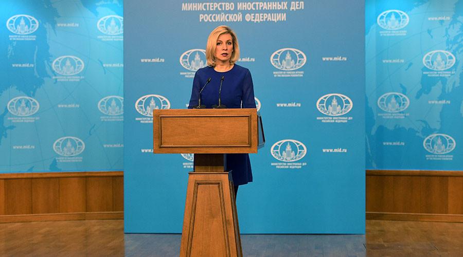 'Stop spreading lies & fake news,' Russian FM spokeswoman tells CNN reporter