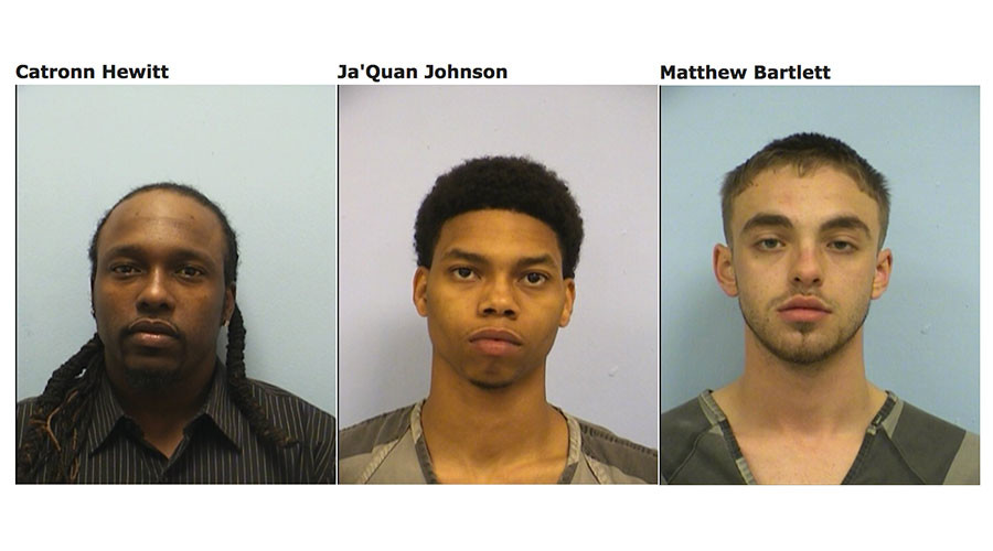Baggage handler, two others arrested for stolen-guns-for-pot scheme at Austin airport