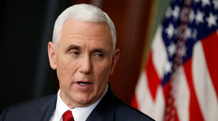 'Absurd' to compare Pence's use of private email account to Clinton's – VP office