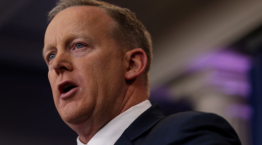 'Trump's new job': WH Press Sec Sean Spicer trolled over latest Twitter gaffe