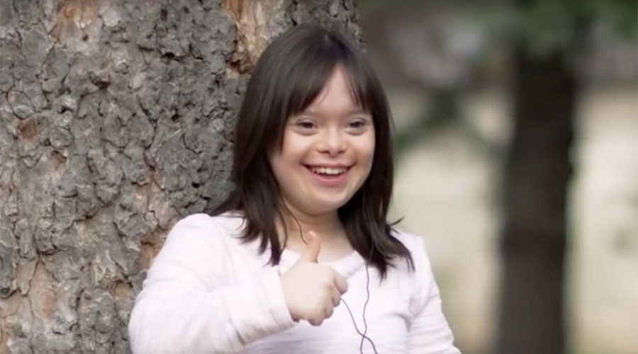 Down's syndrome woman to present weather on French TV after heart-melting FB campaign