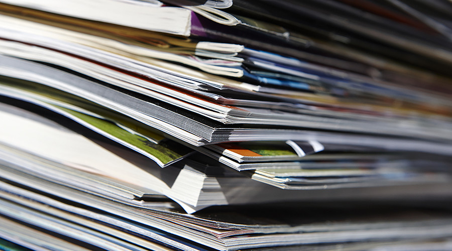Porn hoarder's body reportedly found under 6-ton magazine pile month after heart attack