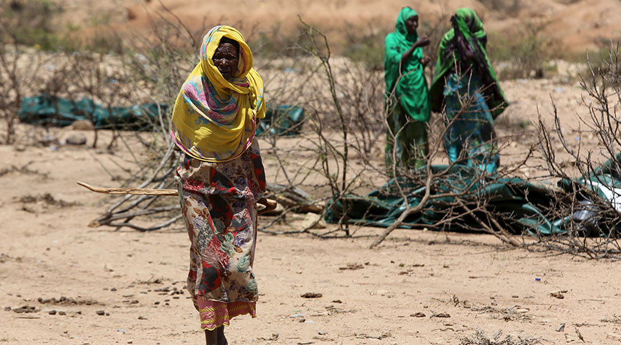 110 dead from hunger in past 48 hours in drought