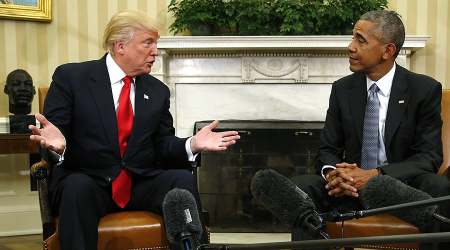 'Simply false': Obama denies Trump allegations of WH wire tapping at Trump Tower
