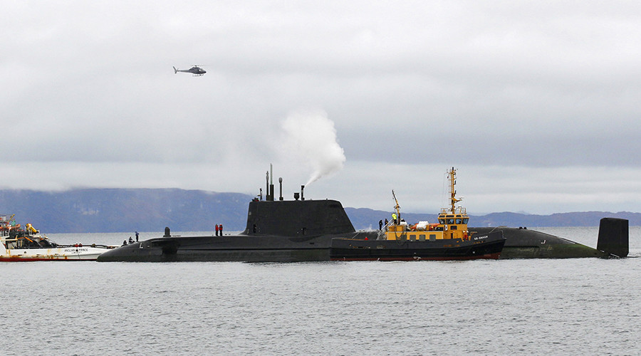Worst-kept secret: Nuclear sub plans found in North Wales charity shop