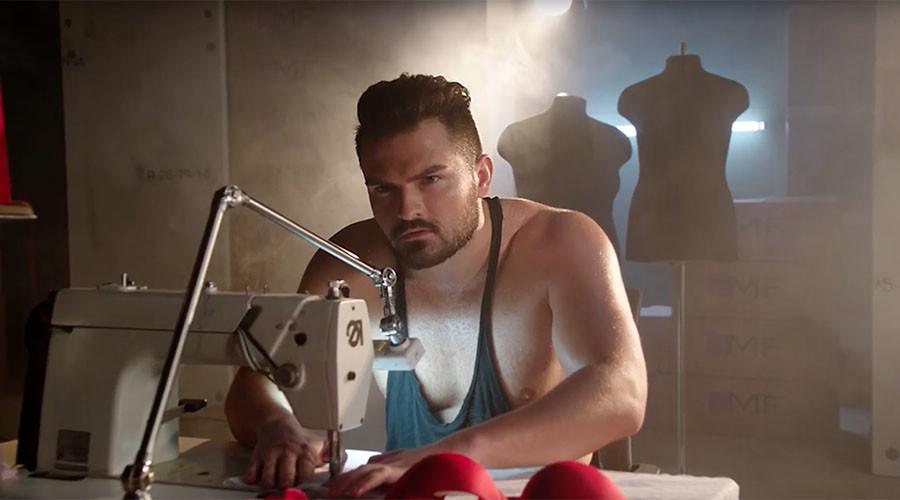 Sweaty hunks make women's undies in racy ad… & internet loves it (VIDEO)