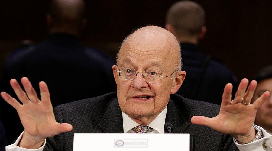 US ex-intel chief Clapper believes Russia-Trump claims, despite 'no evidence to his knowledge'