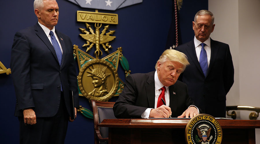 'Hateful and unconstitutional': Trump's revised travel ban greeted with anger again