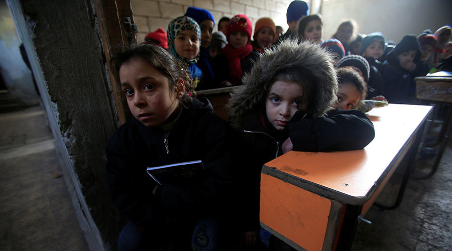 3mn Syrian children know nothing but war & are mentally scarred for life – report