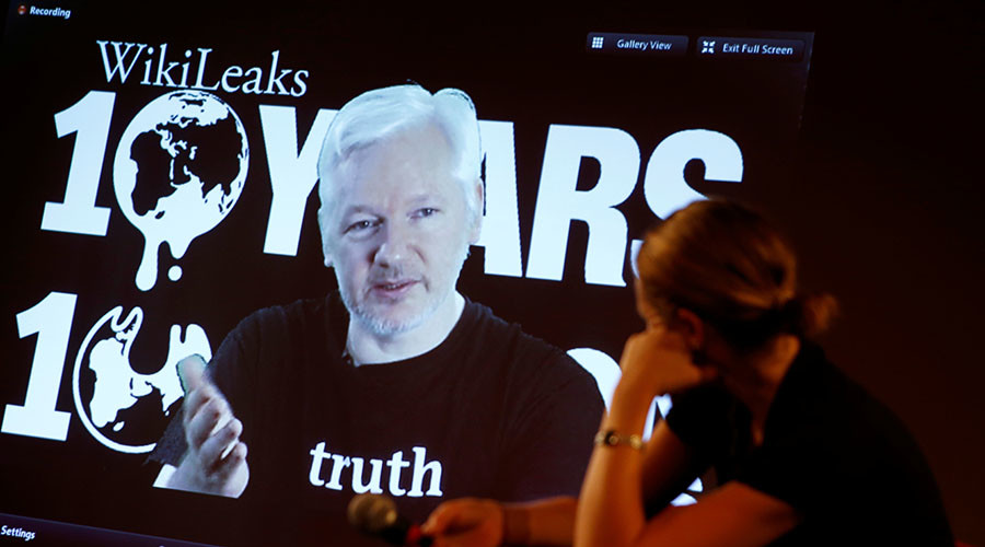 WikiLeaks abandons plans to brief press after release of CIA #Vault7 docs