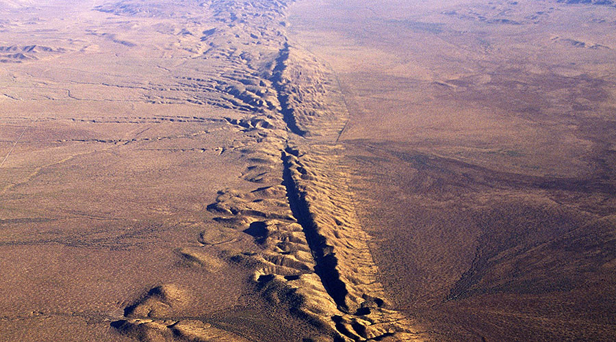 Fault system could cause a big quake  in California