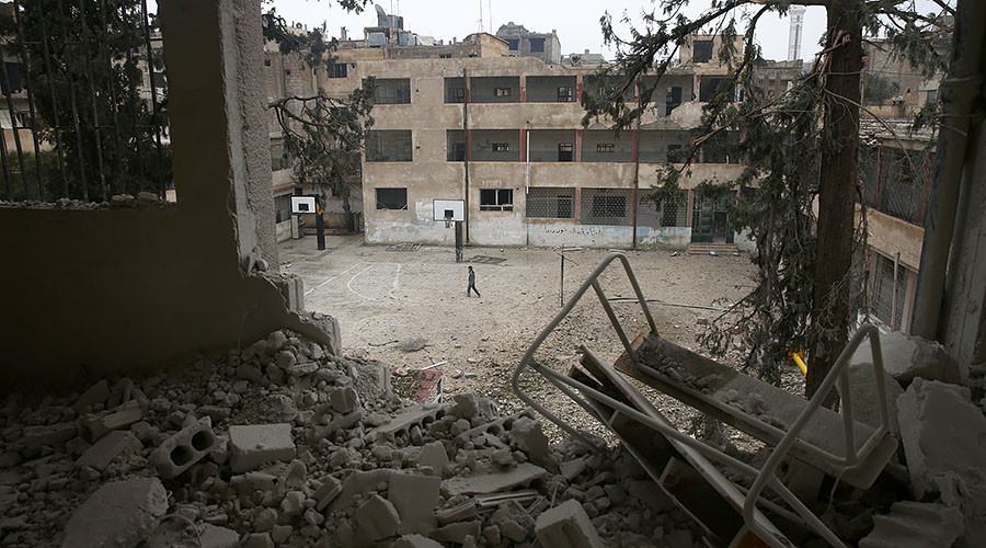 Ceasefire agreed for besieged town near Damascus – Russian military