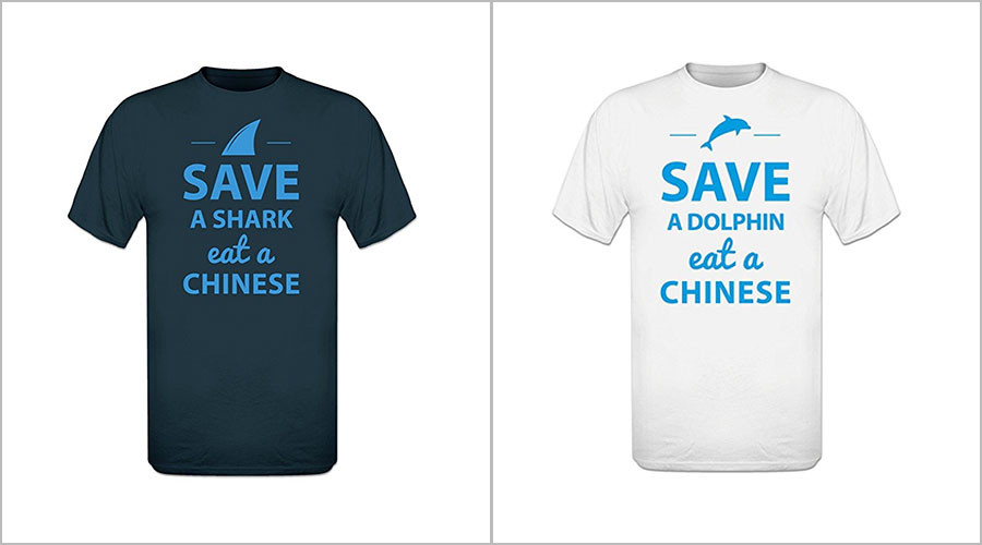 T-shirts with 'Eat a Chinese' slogans spark angry backlash from China, online users