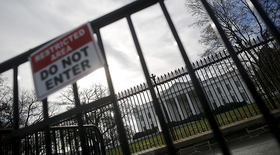 White House intruder arrested after scaling security fence – reports