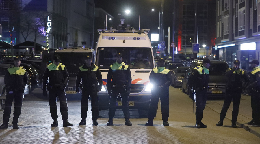 Turkish minister blocked by Dutch police from entering Rotterdam Consulate - reports