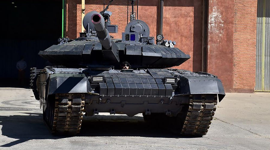 Iran announces mass production of domestic main battle tank, which looks like Russian T-90MS