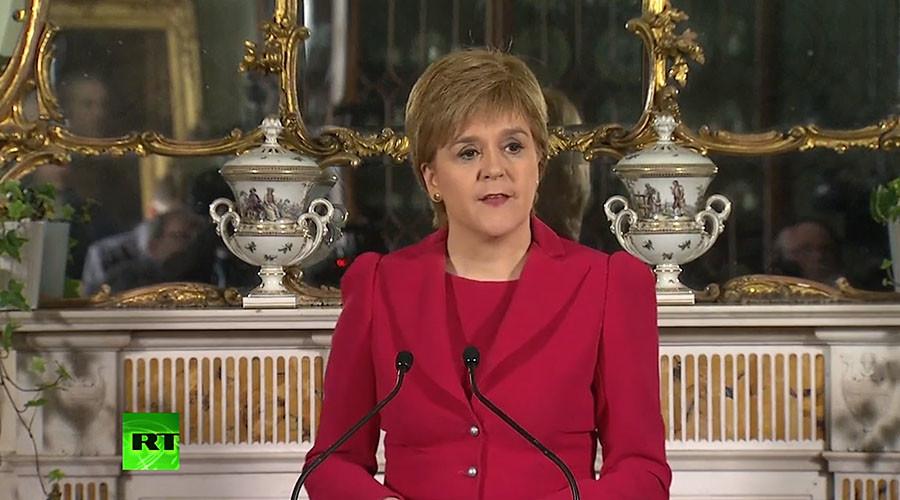 Sturgeon announces plan for 2nd Scottish independence referendum