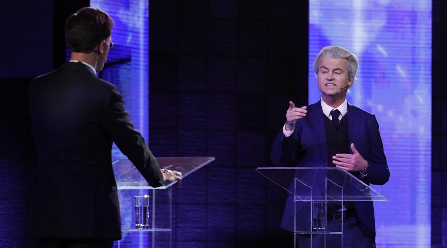 'You're Erdogan's hostage, close borders,' far-right populist Wilders tells Dutch PM