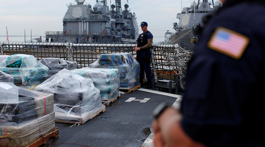 Coast Guard seizes over 4 tons of cocaine in Atlantic, largest sum since 1999