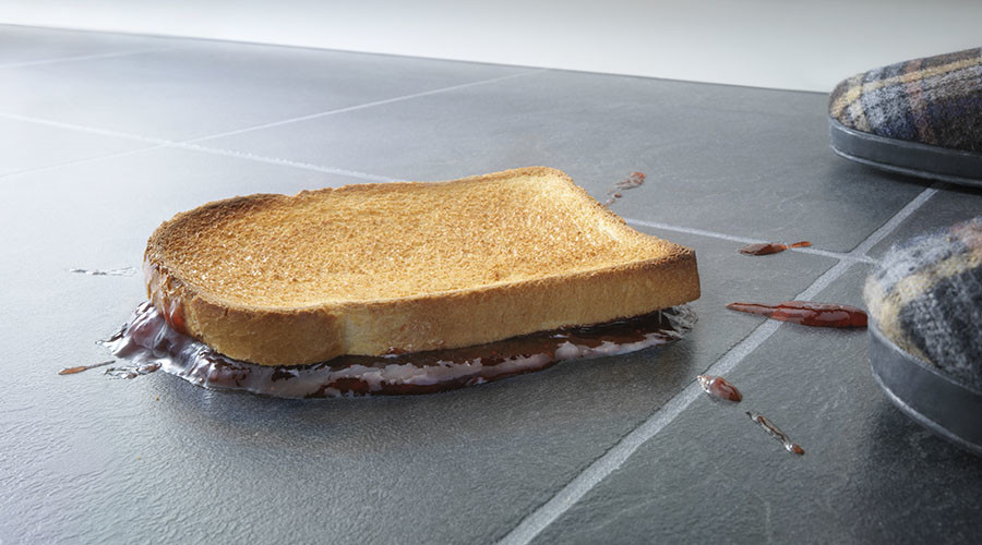 '5-second rule' for food dropped on the floor is true, germ scientists prove