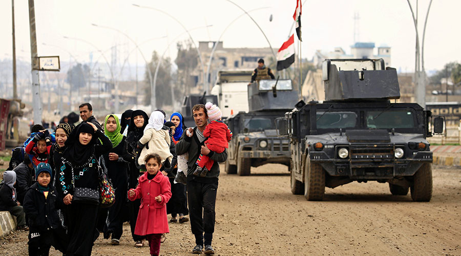 Iraqi forces use heavy artillery & rockets in Mosul after pledging not to – HRW researcher