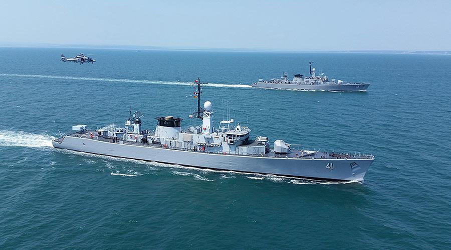 4 NATO warships arrive in Black Sea Port of Odessa, Ukraine, to stay until April 20 (VIDEO)