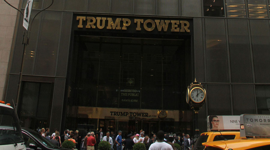 Secret Service laptop containing Trump Tower floor plans stolen – police