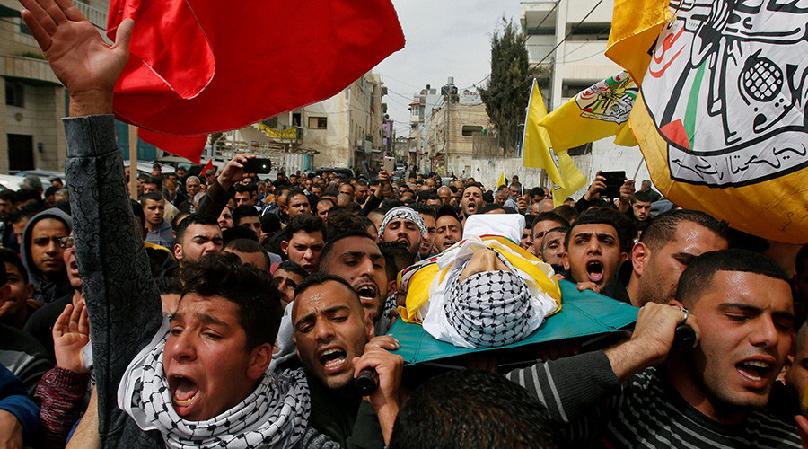 Israeli forces clash with Palestinian protesters after slain teen's funeral (VIDEO)