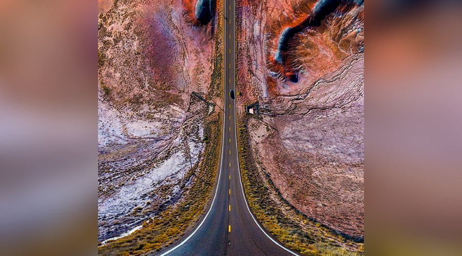 Incredible drone photo project transforms US scenes into 'altered reality' (PHOTOS)