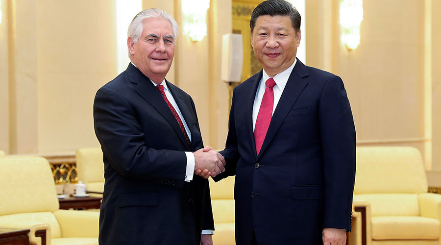 Tillerson wraps up 'friendly' China visit, anticipates Trump-Xi meeting 'soon'